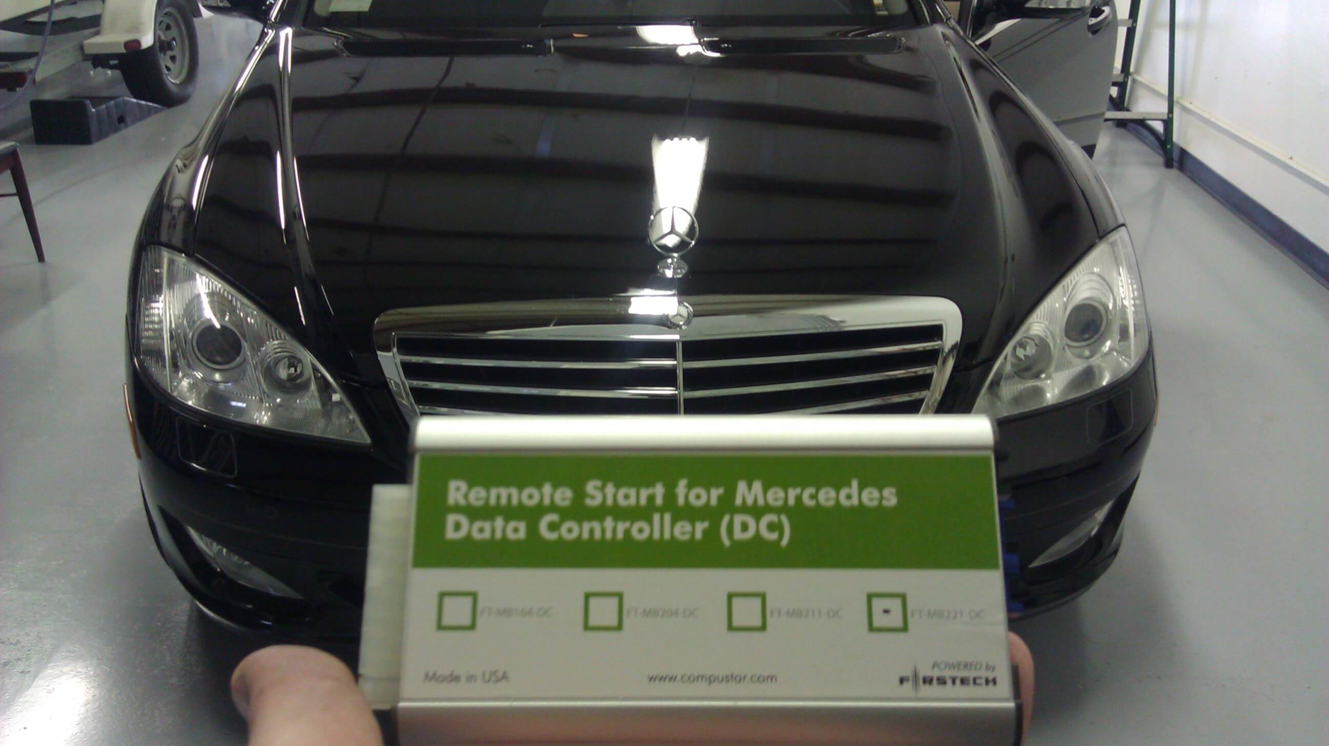 Mercedes benz s550 gets a remote car starter and mobile for Mercedes benz car starter