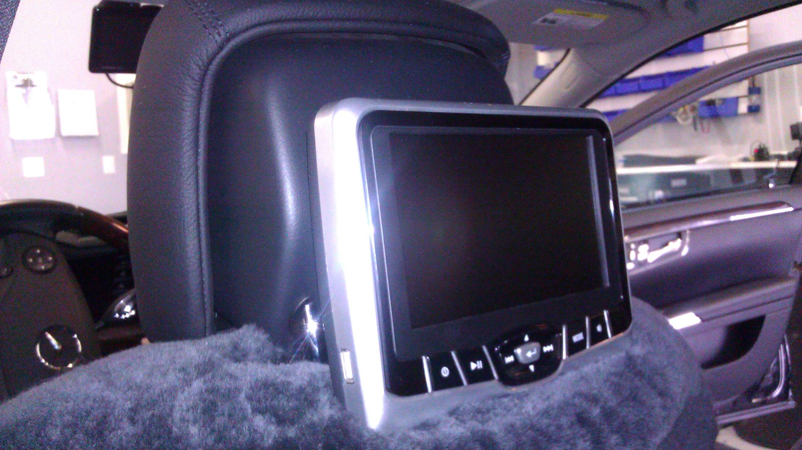 Mercedes Benz Headrest Dvd Player The Remote Starter S550 Gets A Car And Mobile Video