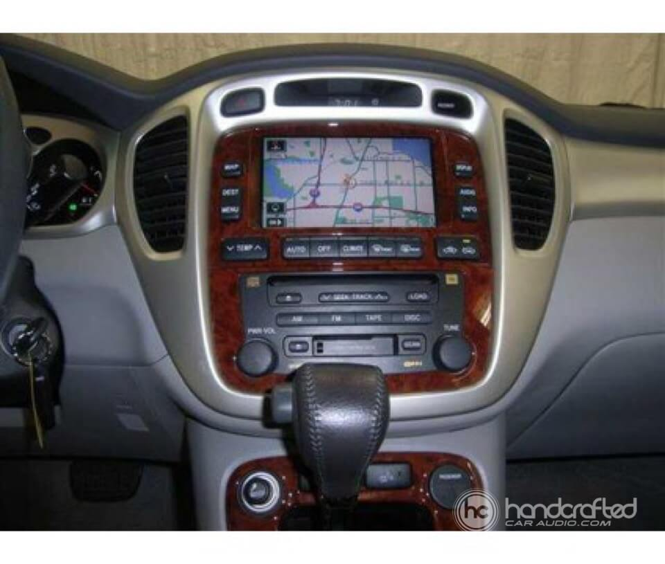 2006 Toyota Highlander Off Road >> 2006 Toyota Highlander Hybrid gets a new Pioneer double din radio! - Handcrafted Auto Marine ...