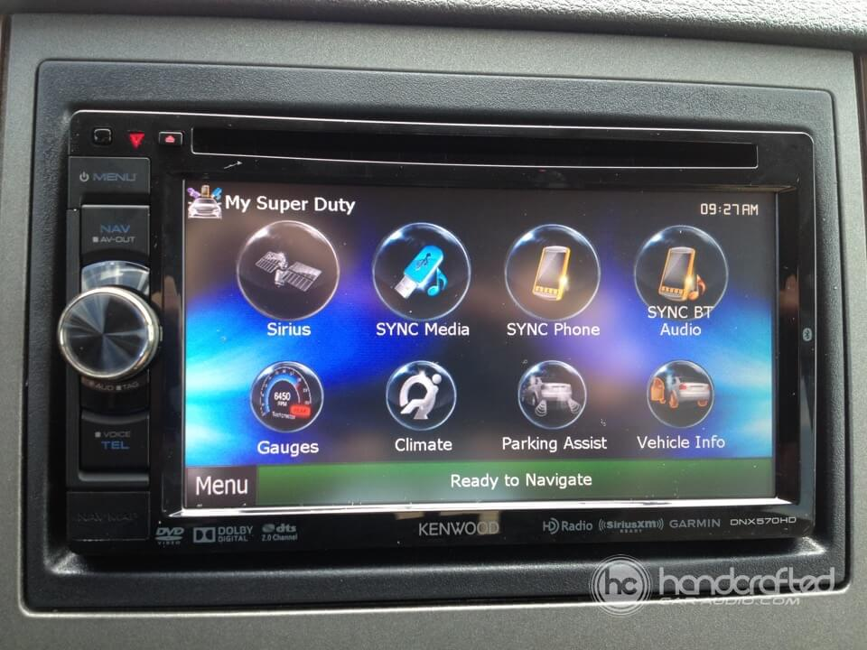 2012 Ford F250 Gps Upgrade With Sync Retention