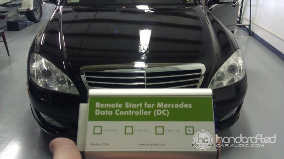 Mercedes benz handcrafted auto marine offroad for Remote starter for mercedes benz