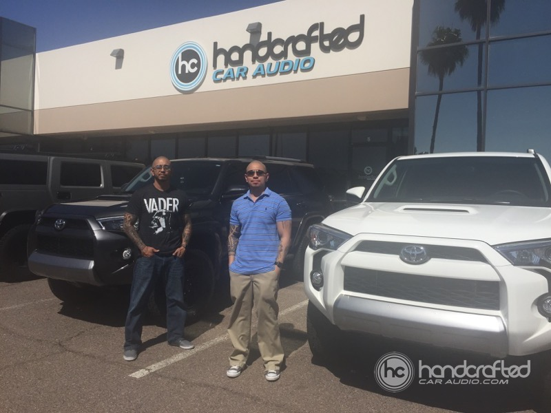 Mesa Client Gets Toyota 4-Runner Audio System Upgrade