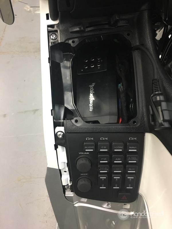2012 Honda Goldwing Audio System Upgrade - Handcrafted ...