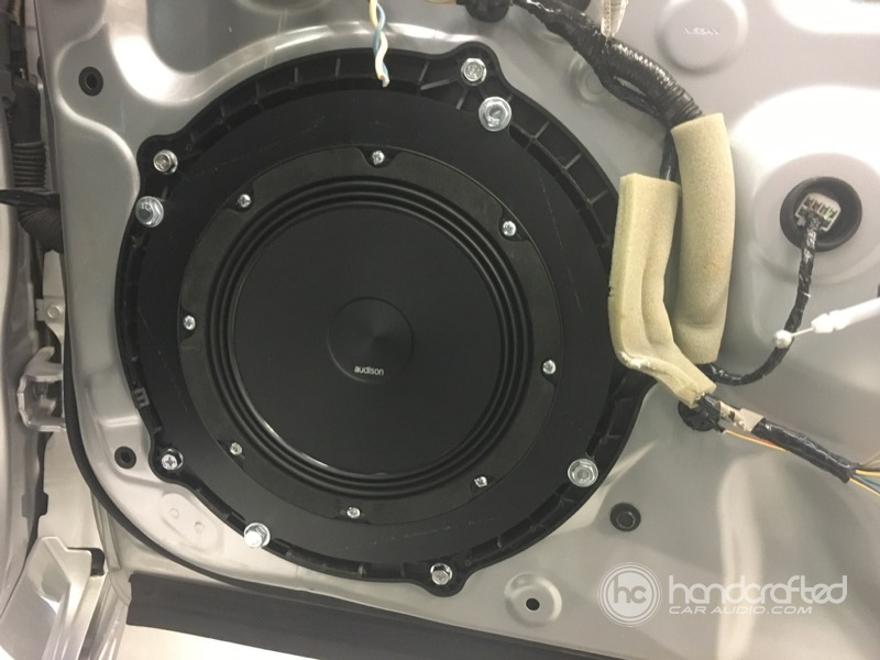 infiniti  sedan audio system upgrade handcrafted auto marine offroad